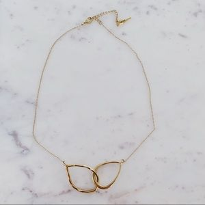 Chloe + Isabel Organic Gold Plated Necklace